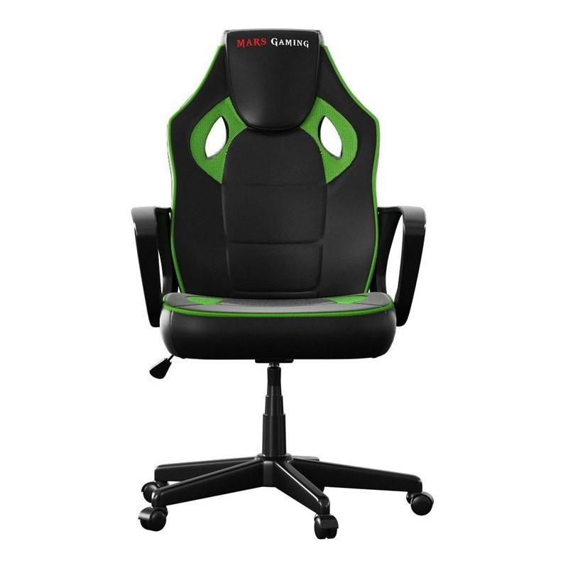 Silla Gamer Mars Gaming MGC0BG Negra / Verde