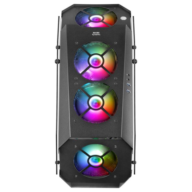 Caja PC ATX Mars Gaming MC51 Negra