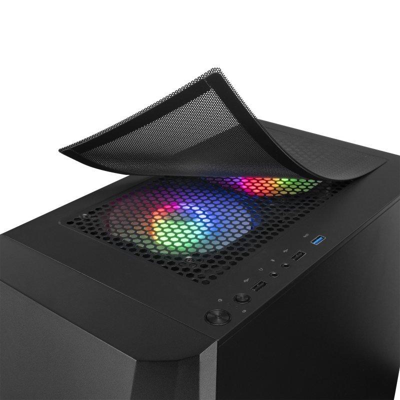 Caja mATX Mars Gaming MCONE RGB