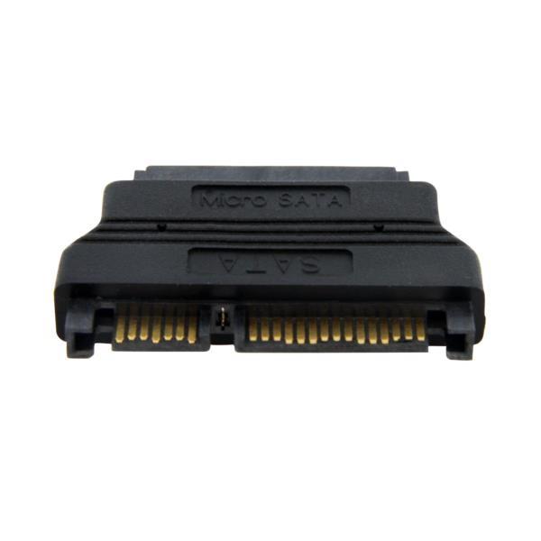 Cable Adaptador Micro SATA a SATA con Alimentación