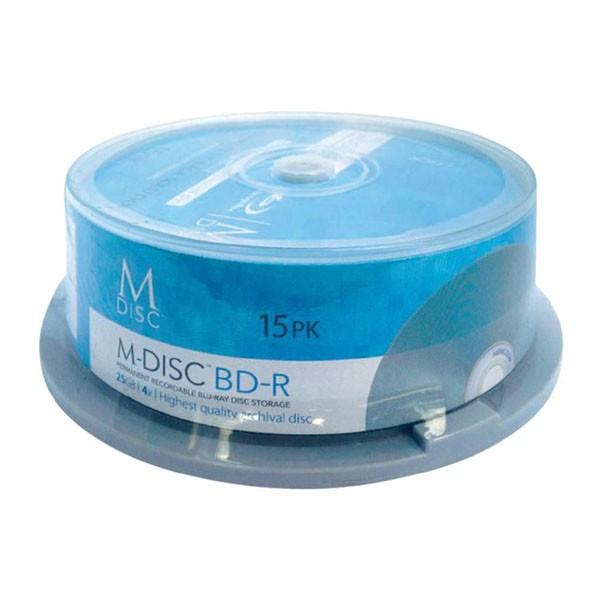 M-Disc BD-R SL 25GB 4x Millenniata Tarrina 15 uds