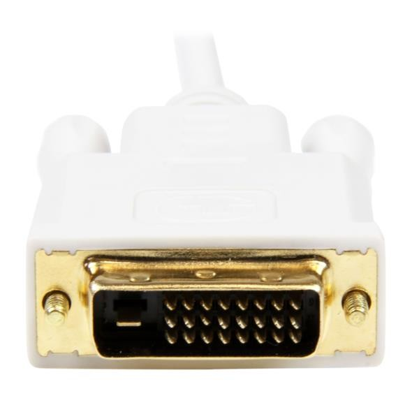 Adaptador Mini DisplayPort a DVI 90CM Blanco