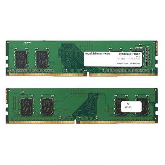 Memoria RAM Mushkin Essentials DDR4 PC4-19200 2400MHz 8GB 2x4GB CL17