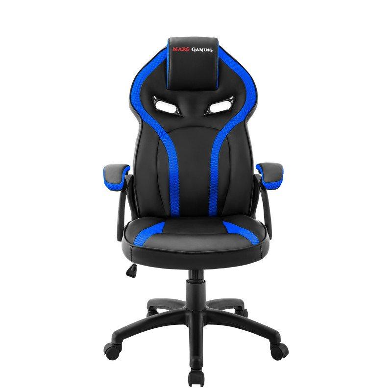 Silla Gamer Mars Gaming MGC118 Azul