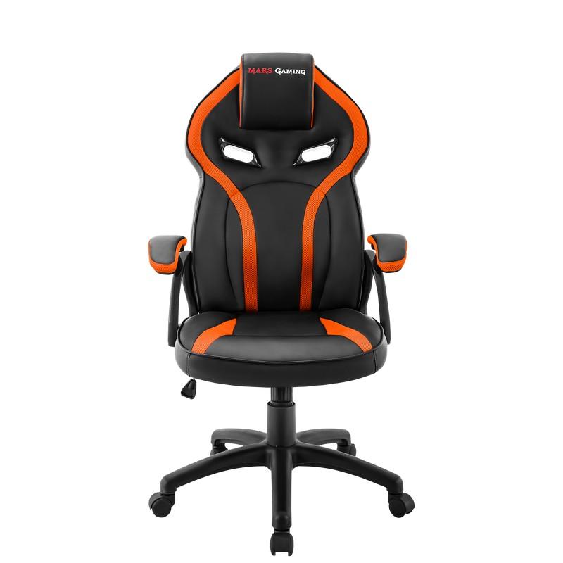 Silla Gamer Mars Gaming MGC118 Naranja