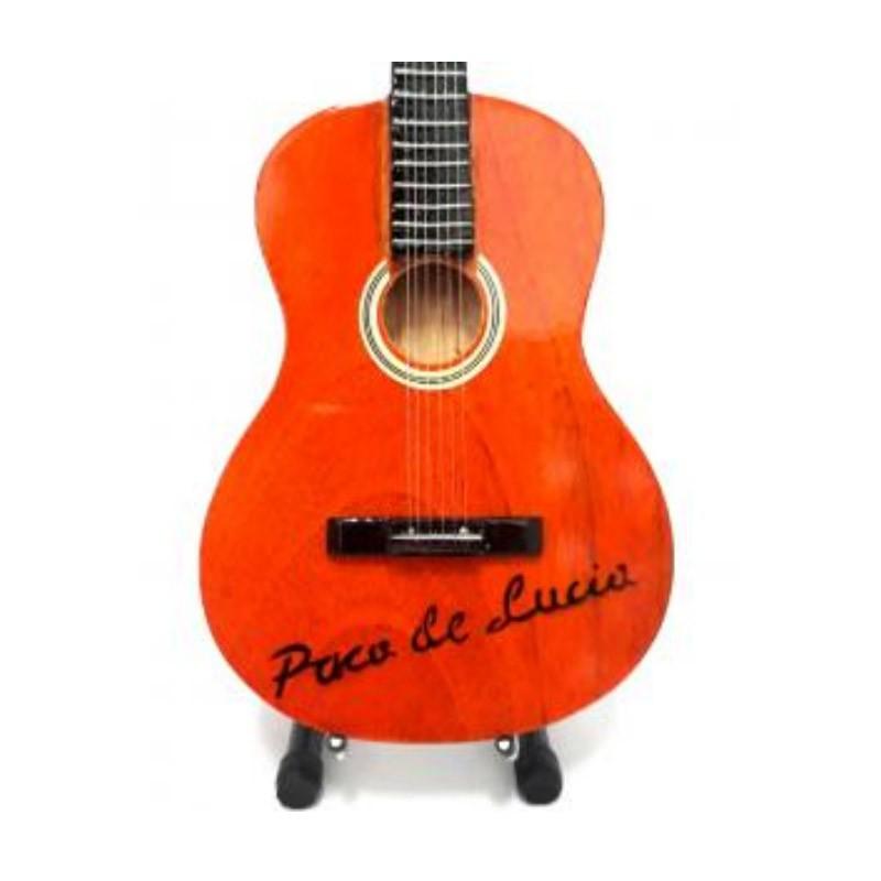 Mini guitarra de colección estilo paco de lucia - paco de lucia