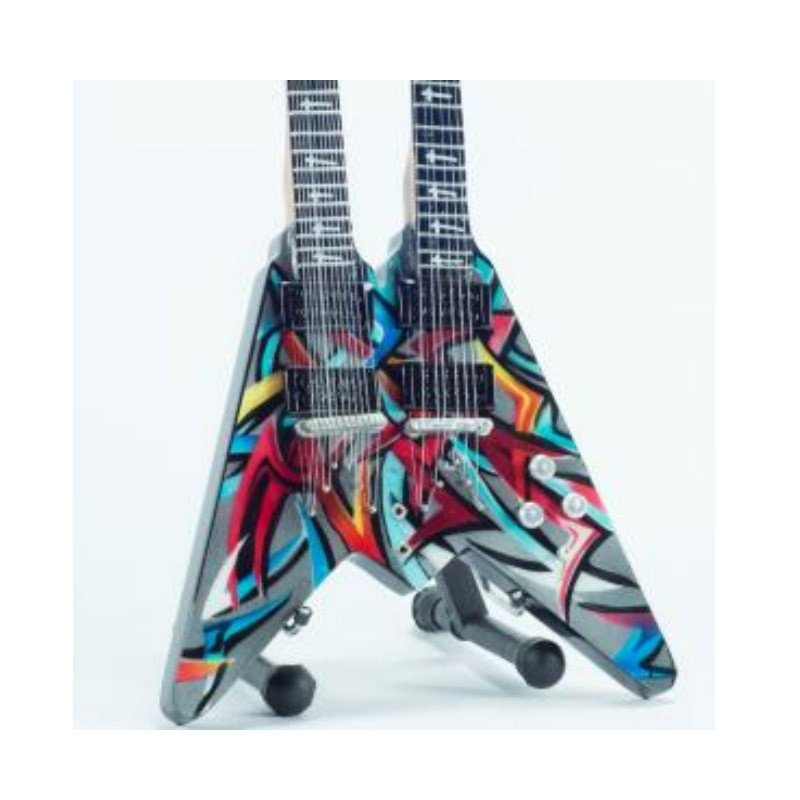 mini-guitarra-de-coleccion-estilo-megadeth-dave-mustaine-double-neck-flying