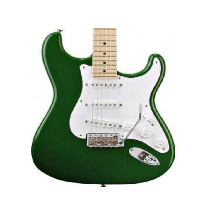 Mini guitarra de colección estilo eric clapton - candy green