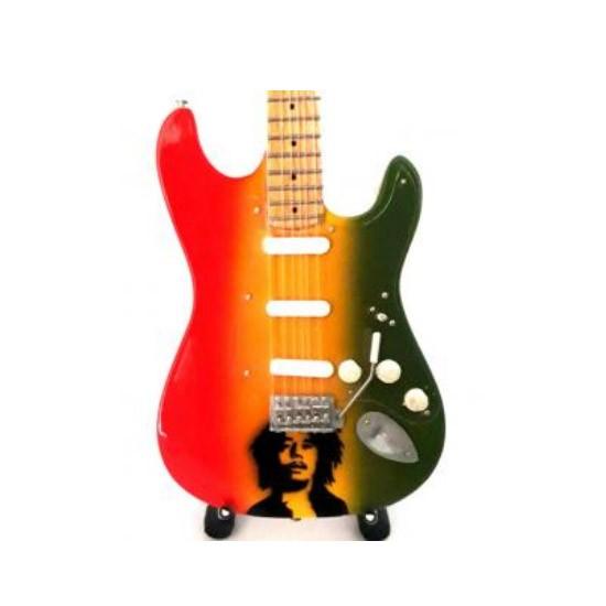 Mini guitarra de colección estilo metallica - kirk hammett - spider & skull 2