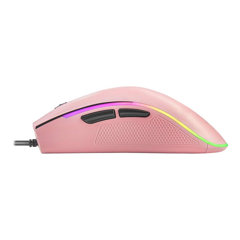 Ratón Óptico Mars Gaming MM218 Pink 10.000 DPI