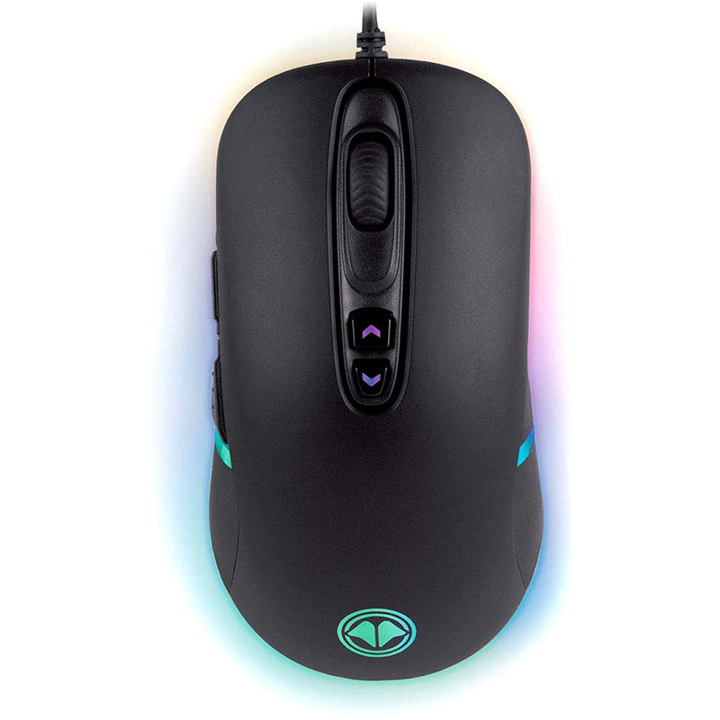 Ratón Millenium Souris MO1 Advanced 8000 DPI Negro