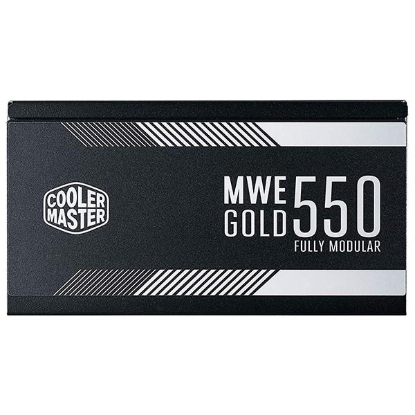 Fuente Alimentación Modular Cooler Master MWE Gold 550W 80 Plus Gold