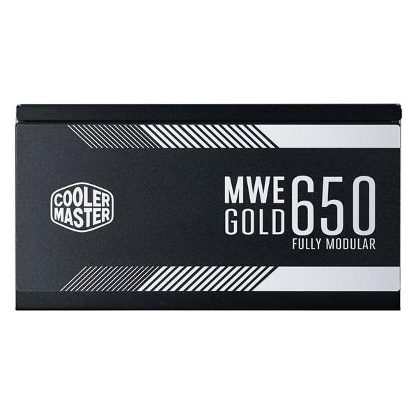 Fuente Alimentación Modular Cooler Master MWE Gold 650W 80 Plus Gold