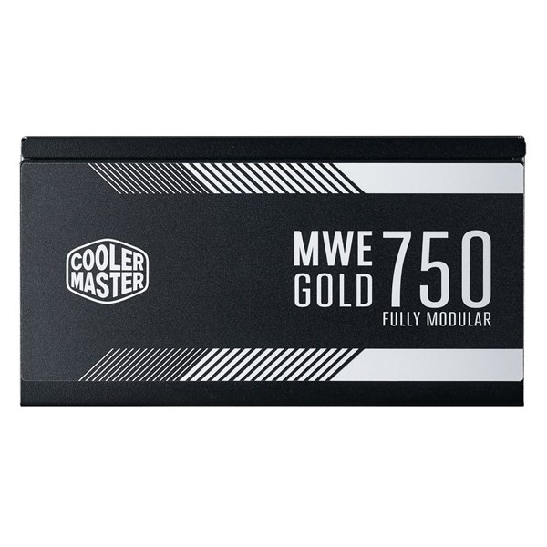 Fuente Alimentación Modular Cooler Master MWE Gold 750W 80 Plus Gold