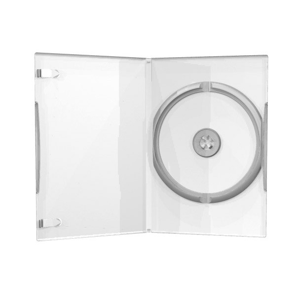 MediaRange Caja DVD 14mm 50 uds - Transparente