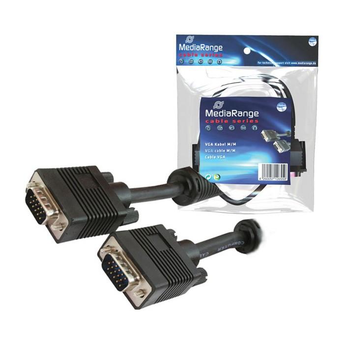 Mediarange - cable s-vga macho / macho 1.8 mts