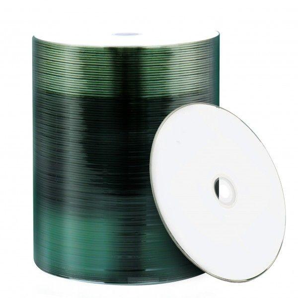 CD-R Mediarange 52x Inkjet FF Printable Bobina 100 uds
