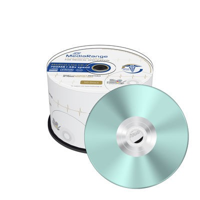 CD-R 48x MediaRange Medical Line FF Printable Tarrina 50 uds