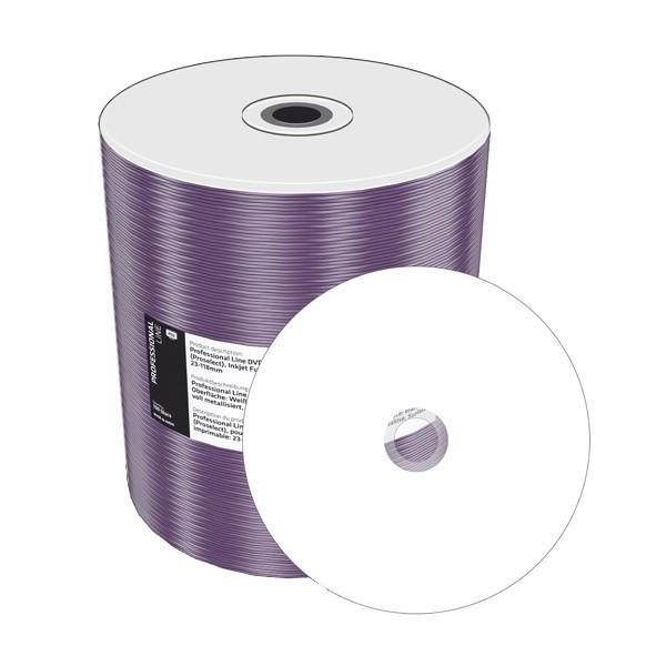 DVD-R 16x Mediarange MR413-U-SHRINK Printable Bobina 100 Uds