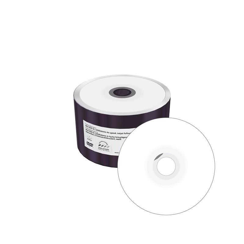 MINI DVD-R MediaRange 8cm FF Imprimible 1.4GB 50 Uds
