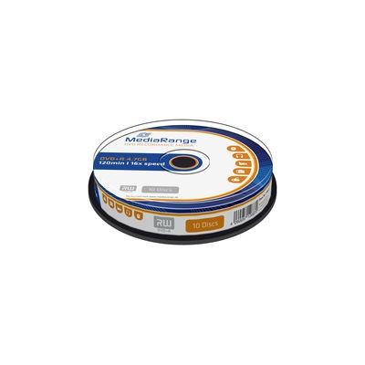 DVD+R 16X MediaRange Tarrina 10 uds