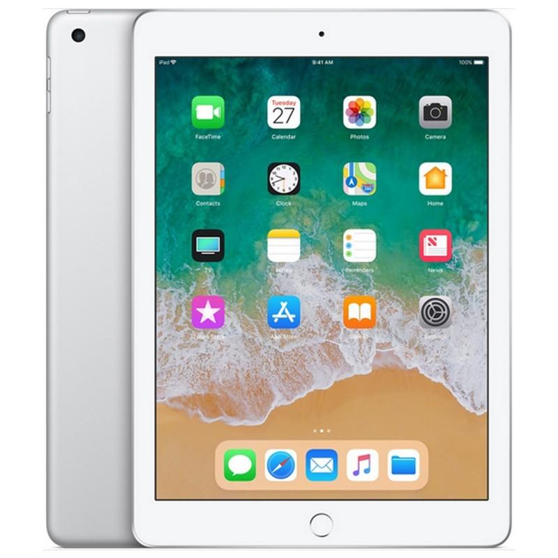 Apple iPad 2018 32GB WiFi + Cellular Plata