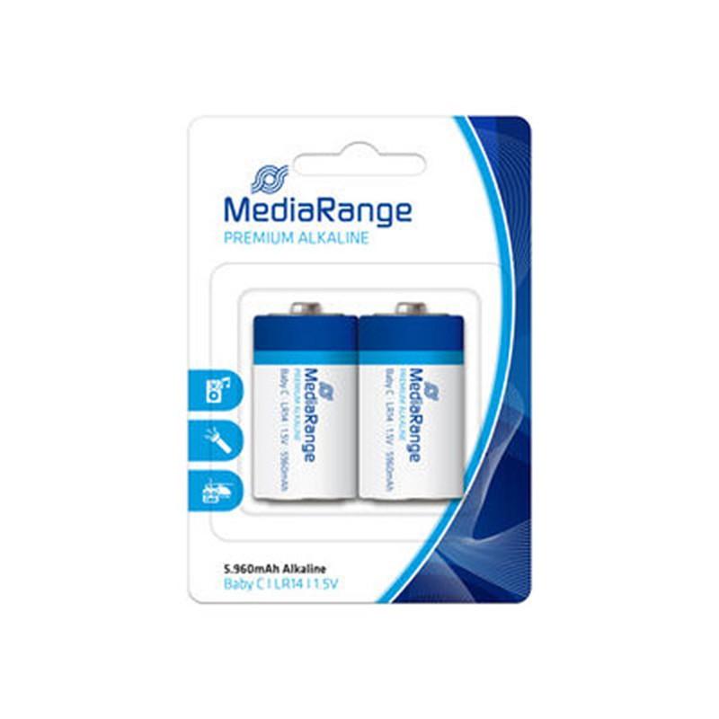 Pila Alcalina C MediaRange pack 2 uds (LR14)