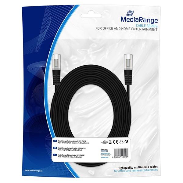 mediarange-cable-de-red-rj45-cat5e-10mts-negro