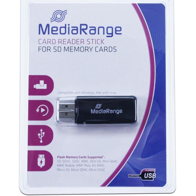 Lector de Tarjetas USB MediaRange MRCS506