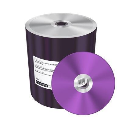 DVD-R 16x Mediarange Professional Line Thermal Silver Bobina 100uds