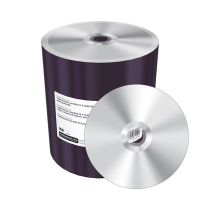 DVD-R 16x Mediarange Professional Line Thermal Silver Bobina 100 uds