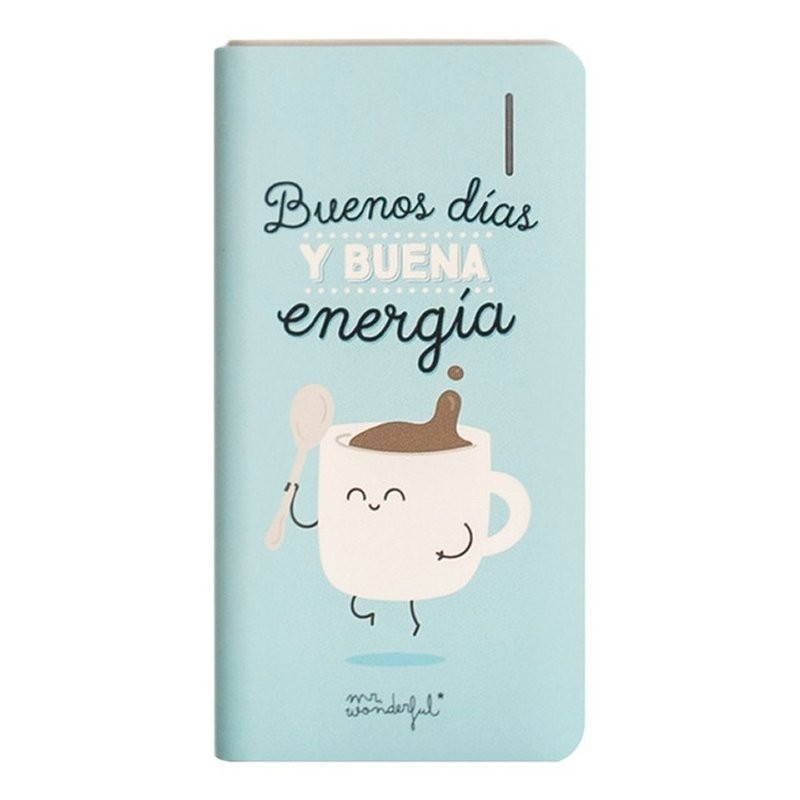 PowerBank MR Wonderful Buenos Dias 4000mAh