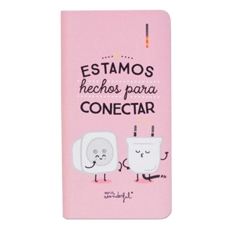 PowerBank MR Wonderful Conectados 4000mAh