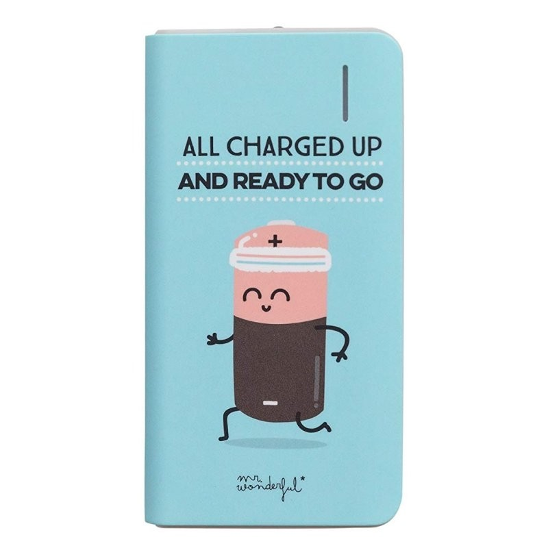 PowerBank MR Wonderful Todo Cargando 4000mAh
