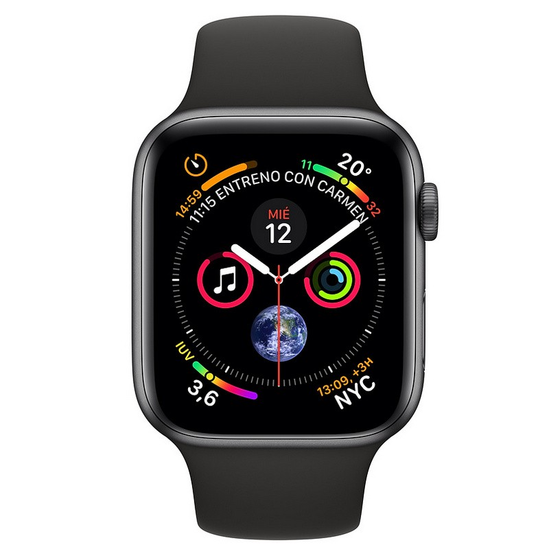 Apple Watch Series 4 GPS + Cellular 40mm Aluminio Gris Espacial con Correa Depor