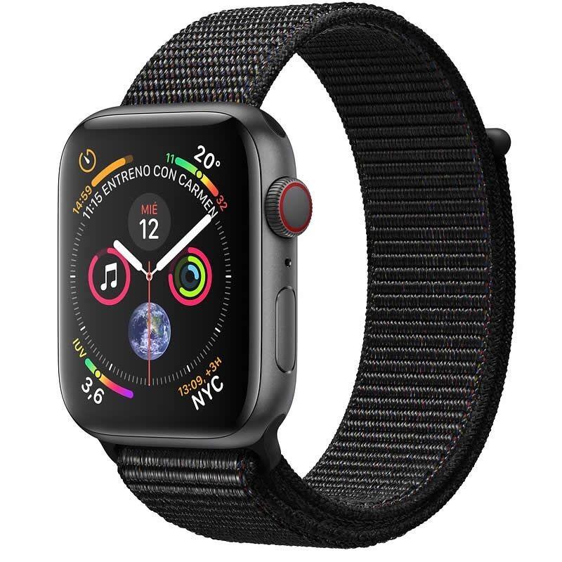 Apple Watch Series 4 GPS + Cellular 44mm Aluminio Gris Espacial con Correa Loop