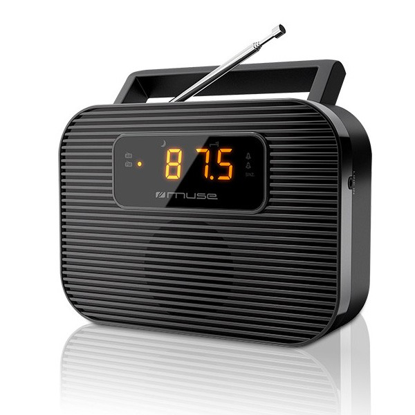 Radio Reloj Despertador MUSE M-080R