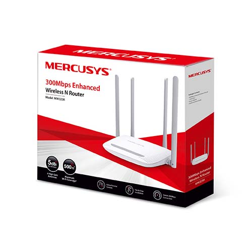 Router Inalámbrico Mercusys MW325R N300