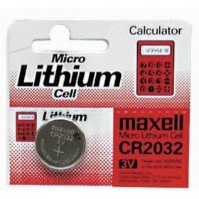 CR2032 3V Pila de Boton de Litio Maxell MXCR2032 5 uds
