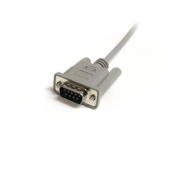 Cable Serie Conexión Directo - DB9 M/H