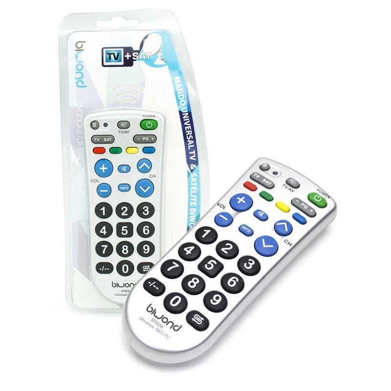 Mando Universal Biwond ST626 TV y SAT