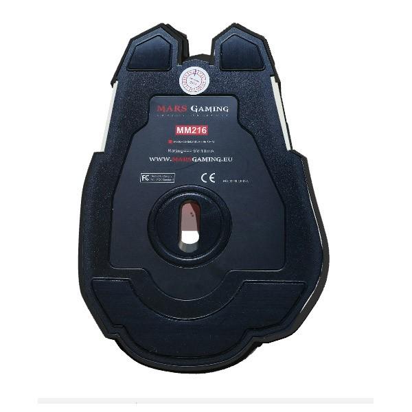 Ratón Óptico USB Mars Gaming MM216 5000 DPI