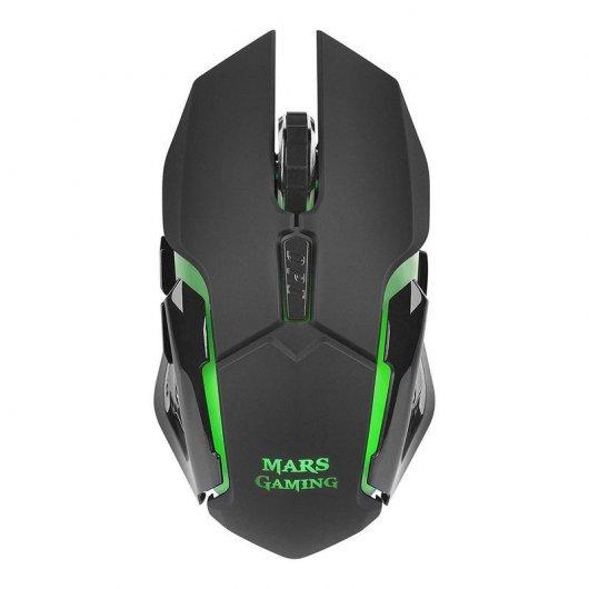 Ratón Inalámbrico Mars Gaming MMW 3.200 DPI