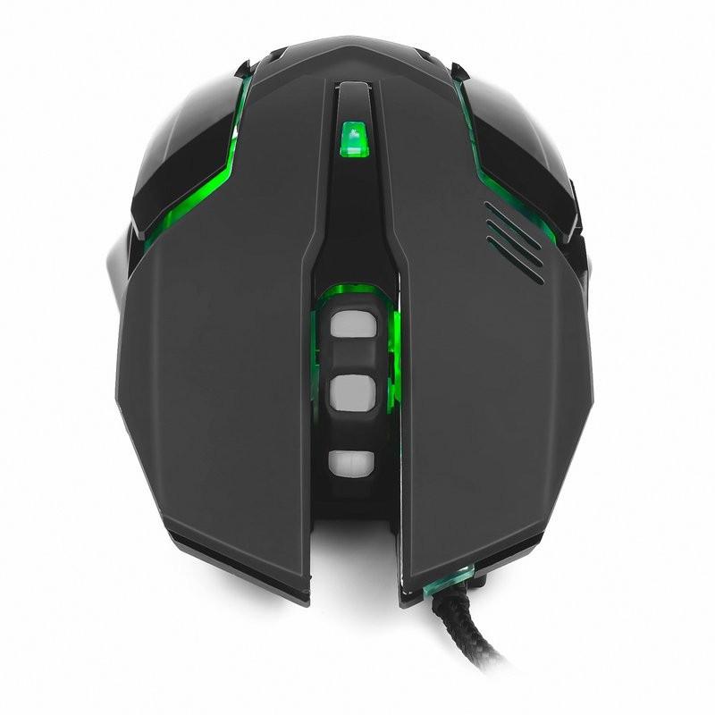 Ratón Óptico USB Mars Gaming MRM0 4000DPI