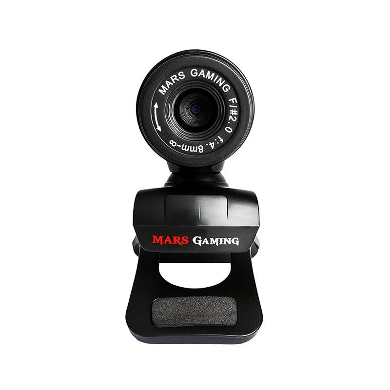 Webcam con Micrófono Mars Gaming MW1 640P