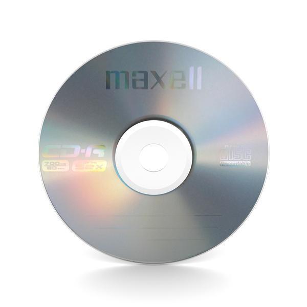 CD-R 52x 700MB Maxell Bobina 50 uds