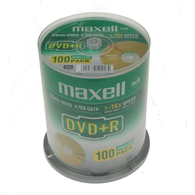 dvd-r-16x-maxell-tarrina-100-uds