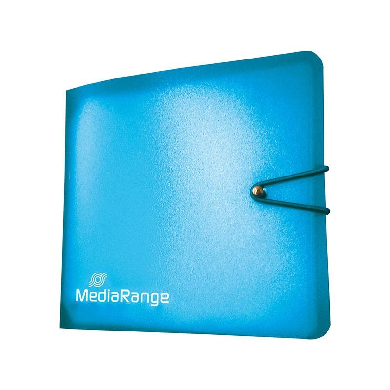Archivador Nylon Mediarange 12 CD/DVD