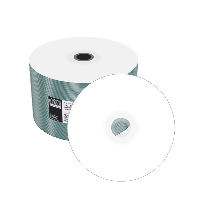 Mini CD-R Mediarange 22min Fullface Printable Bobina 50