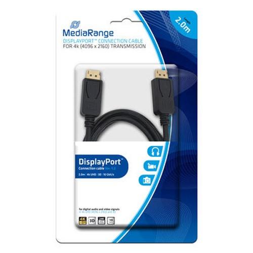 mediarange-cable-displayport-negro-2m